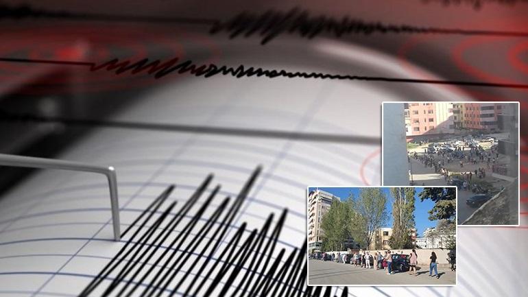 Tërmetet në Shqipëri