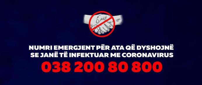 Numri për Koronavirus