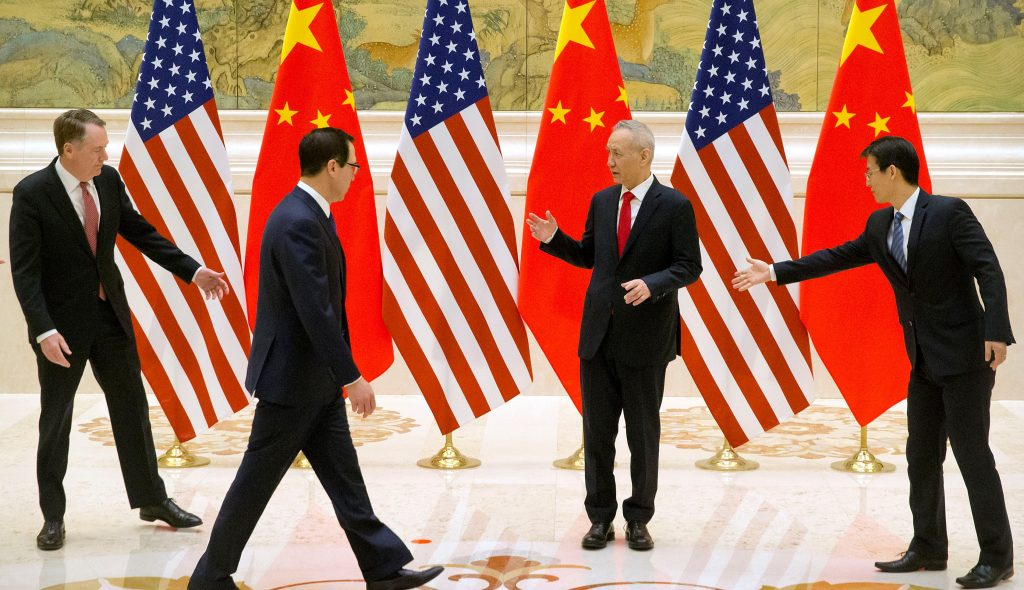 Kina-SHBA