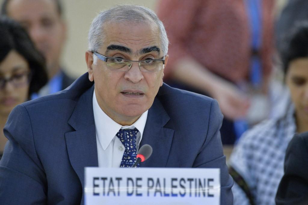 Ambasadori palestinez